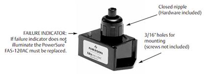 Edco FAS-120AC surge suppressor details