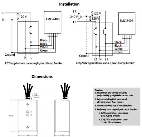 Edco EMC-240B installation