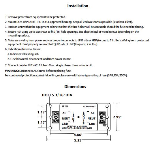 install_HSP121BT-1RU_Series